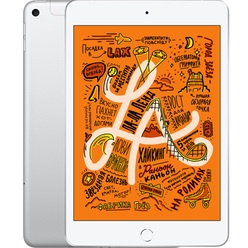 Планшет Apple iPad mini 2019 7.9 Wi-Fi+Cellular 64GB Silver