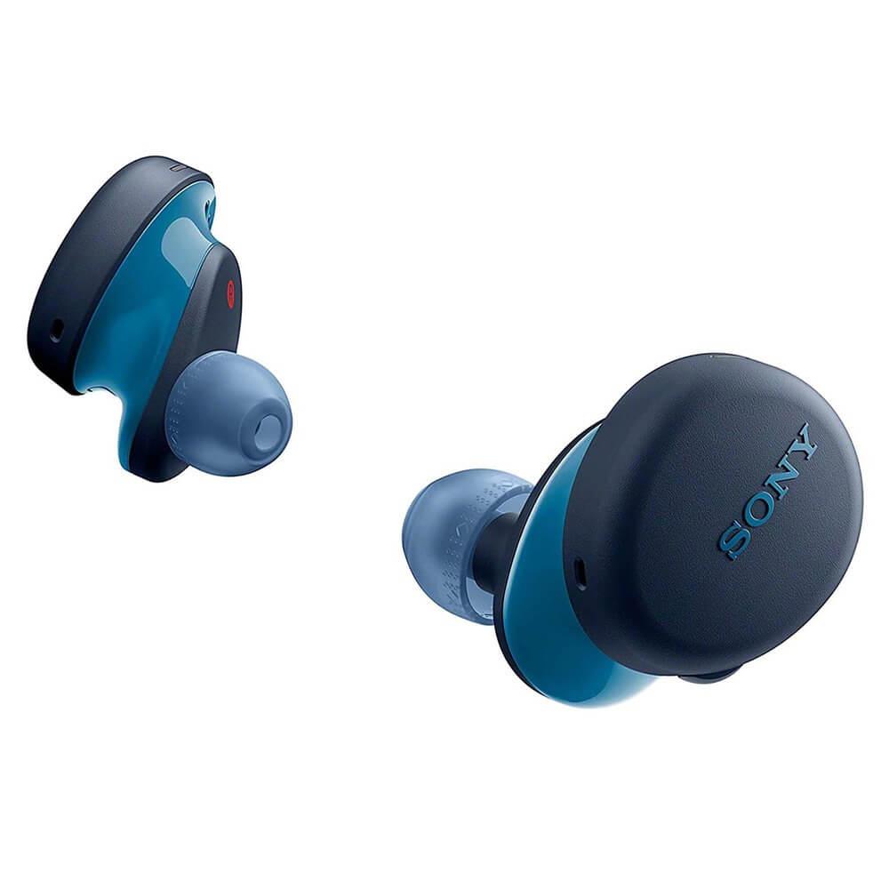 Наушники Sony WF-XB700, синий синего цвета