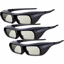 3D очки Sony TDG-BR250 X3 (комплект 3 шт) black