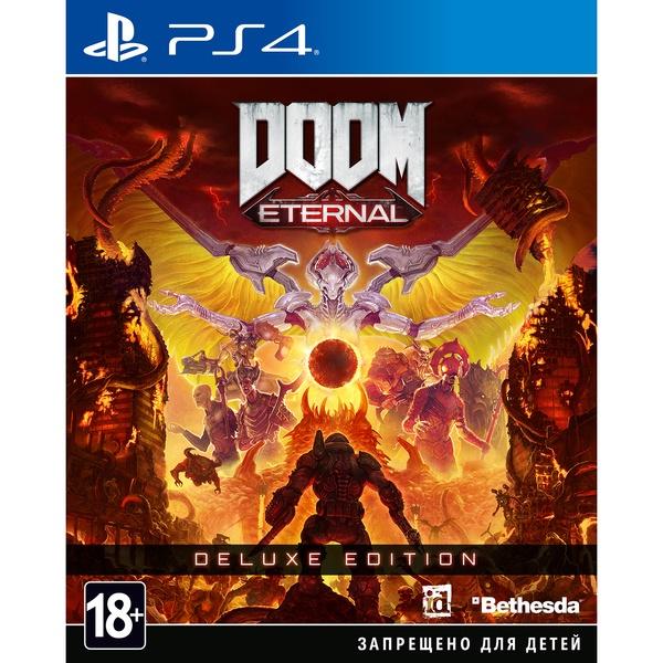 DOOM Eternal. Deluxe Edition PS4, русская версия фото