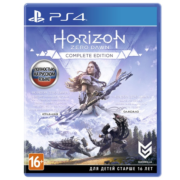 Horizon Zero Dawn. Complete Edition PS4, русский язык Horizon Zero Dawn. Complete Edition, русская версия фото