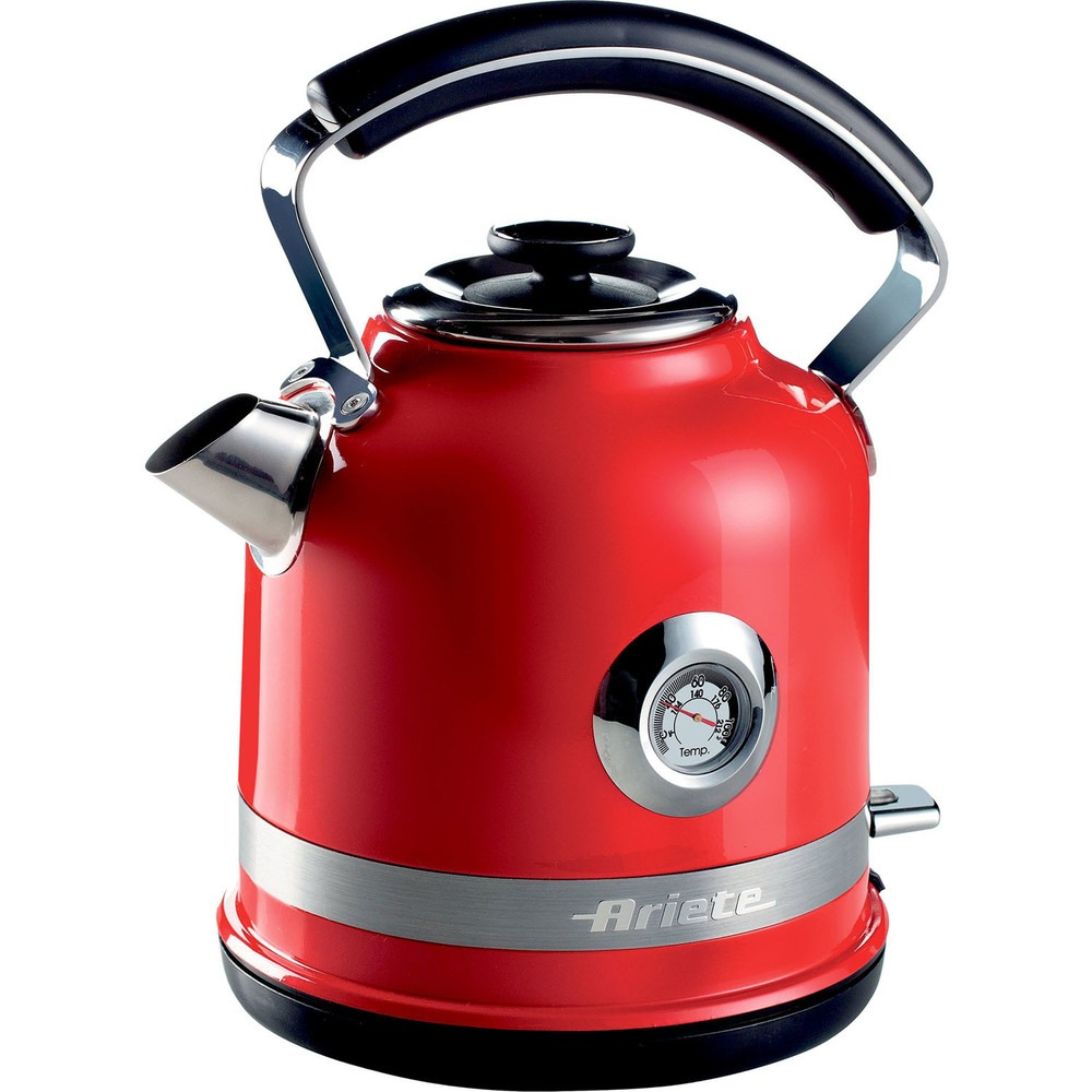 Чайник Ariete Moderna 2854 красного цвета