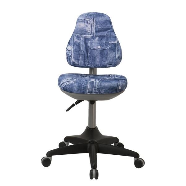 Компьютерное кресло Бюрократ KD-2 синий джинса фото