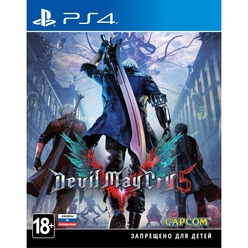 Devil May Cry 5 PS4, русская версия