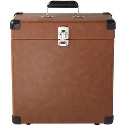 Кейс для хранения винила Crosley CR401-TA, Tan