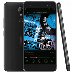 Смартфон с хорошей камерой и недорогие Highscreen Fest XL Black