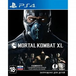 Mortal Kombat XL PS4, русская версия