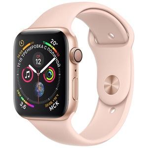 Apple Watch Series 4  44 мм розовый песок, спортивный ремешок