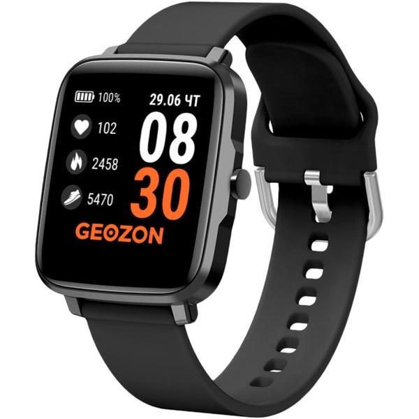 Смарт-часы GEOZON STAYER Black (G-SM13BLK) STAYER Black (G-SM13BLK) черного цвета