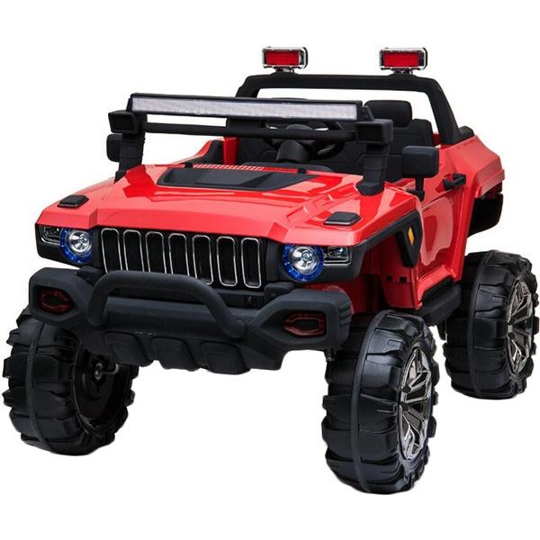 Детский электромобиль Toyland Jeep Big QLS 618 бордо фото