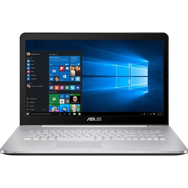 Ноутбук ASUS N752VX Dark Grey 90NB0AY1-M02530