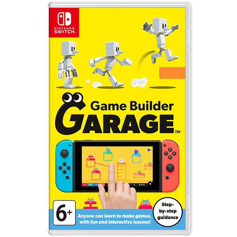 Nintendo Game Builder Garage, английская версия