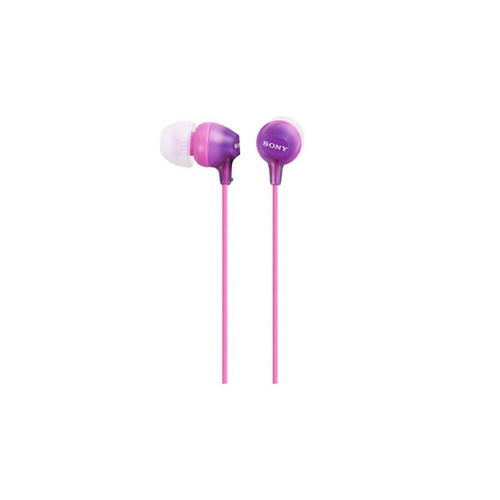 Наушники Sony MDR-EX15LPV, фиолетовый розового цвета