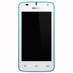 Смартфон Philips W536 white/blue