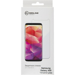 Защитное стекло Red Line для Samsung Galaxy A50 Full Screen, черная рамка