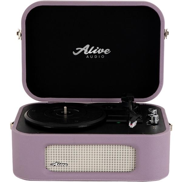 Проигрыватель виниловых пластинок Alive Audio Stories Lilac STR-06-LL