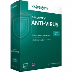 Программное обеспечение Kaspersky Lab Anti-Virus 2015 Russian Edition Base Box 2ПК 1 год