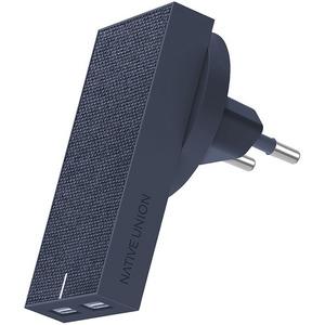 Native Union Smart Charger Dual, синий (SMART-2-MAR-FB-INT)