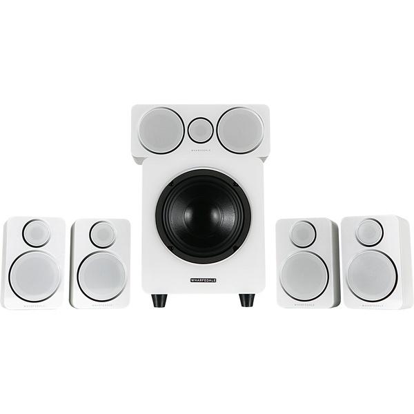 Акустическая система Wharfedale 5.1, DX-2 HCP System White Leather белого цвета