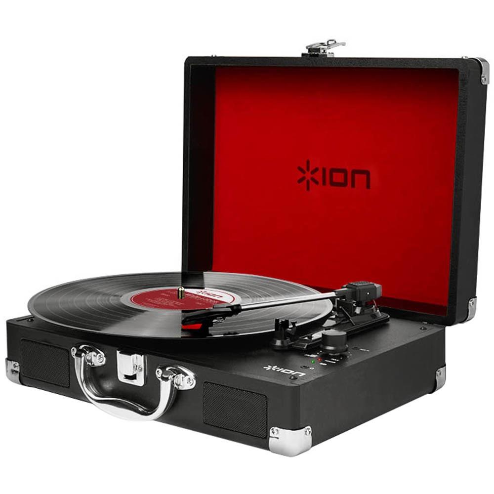 Проигрыватель виниловых пластинок ION Audio VINYL MOTION черного цвета