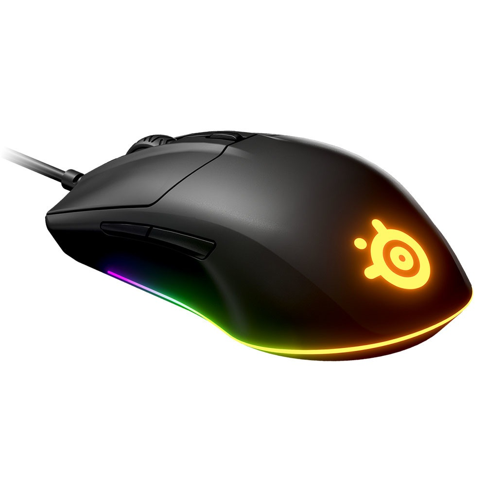Компьютерная мышь SteelSeries Rival 3 чёрный черного цвета