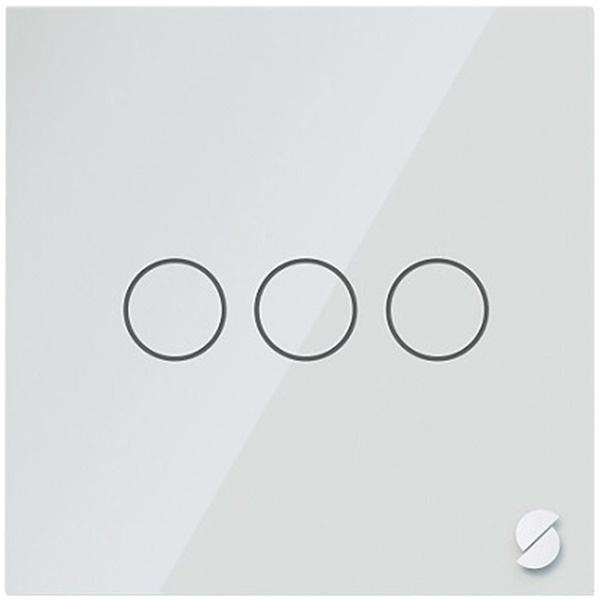 Беспроводной выключатель Sibling Powerlite-WS3W, белый