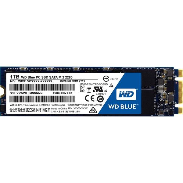 Внутренний SSD накопительWestern Digital 1TB WDS100T2B0B SSD 1TB WDS100T2B0B фото