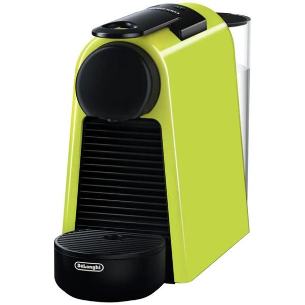 Капсульная кофемашина Delonghi EN85.L Essenza Mini салатового цвета
