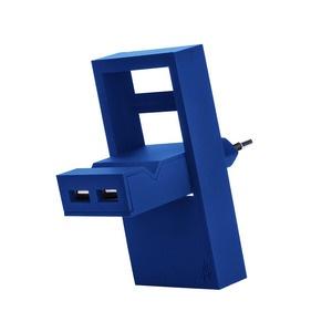 USBepower ROCK, 2 IN 1, 2 USB-A, Blue