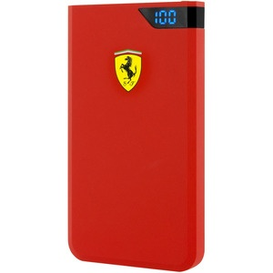 Ferrari Soft-touch 10000 мАч, красный (FEPBI610RE)