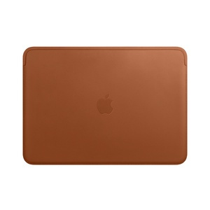 Apple Leather Sleeve Saddle Brown