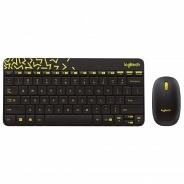 Logitech Wireless Desktop MK240 Nano Black (920-008213)