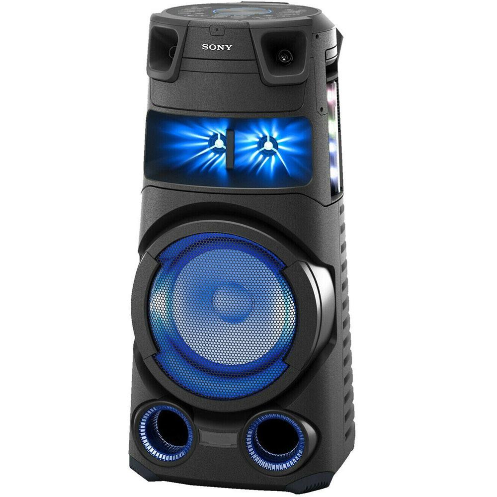 Музыкальный центр Sony MHC-V73D черного цвета