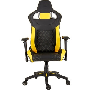 Компьютерное кресло Corsair Gaming T1 Race 2018 Gaming Chair Black/Yellow