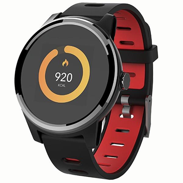 Смарт-часы GEOZON Vita Plus Black/Red (G-SM01BLKR) фото