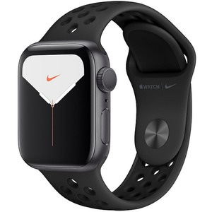 Apple Watch Nike Series 5 44 мм серый космос, спортивный ремешок