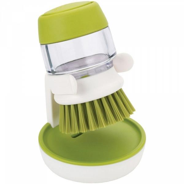 Купить Щетка с дозатором моющего средства Joseph Joseph Palm Scrub 85004, Palm Scrub 85004 щетка с дозатором моющего средства