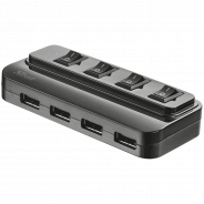 Trust 20619 4 PORT USB 2.0 HUB WITH SWITCHES