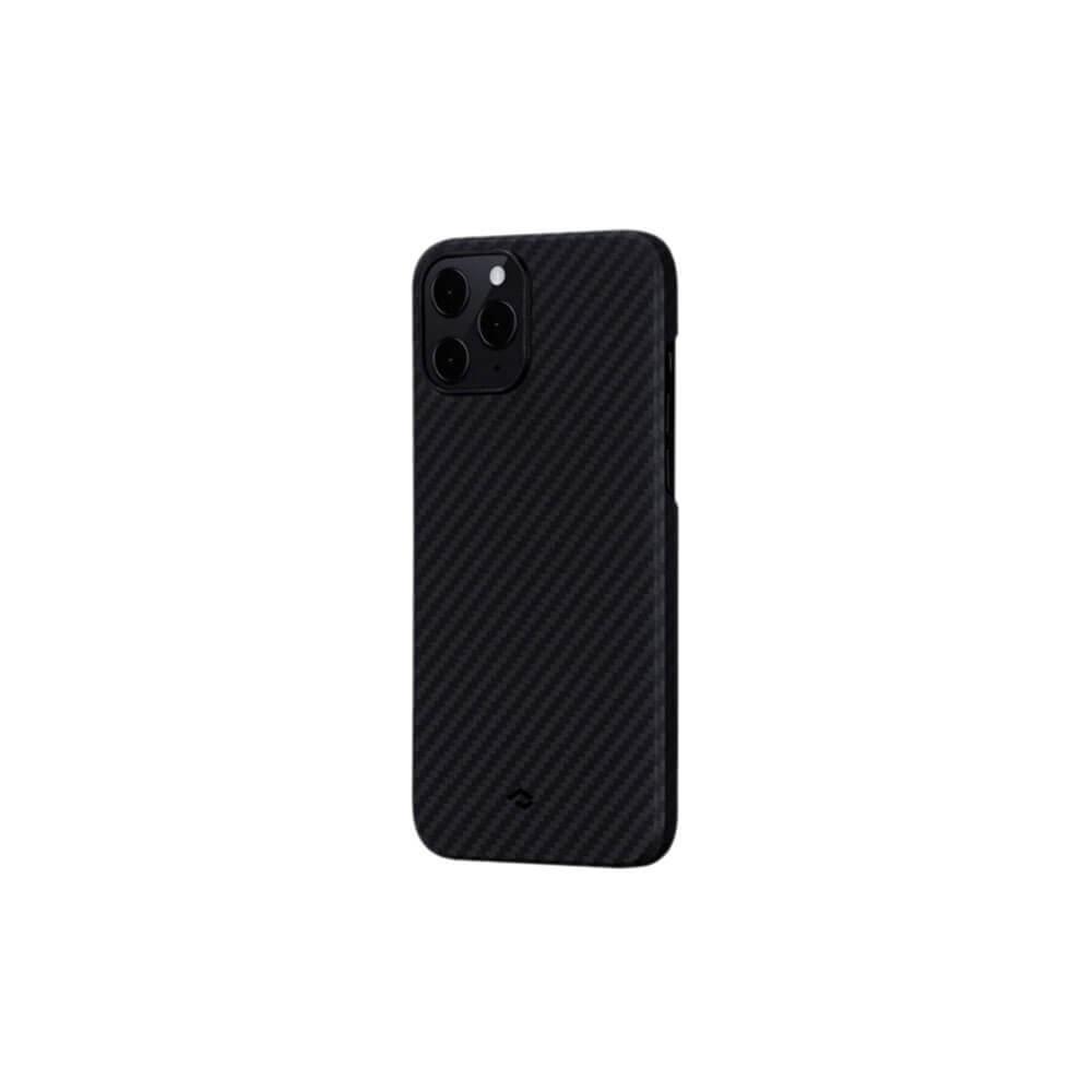 Чехол для смартфона Pitaka MagEZ KI1201P для Apple iPhone 12 Pro, чёрно-серый