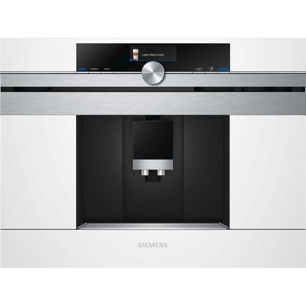 Купить Встраиваемая кофемашина Siemens CT 636 LEW1, серебристый