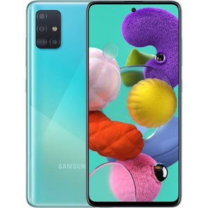 Смартфон Samsung Galaxy A51 64 ГБ голубой