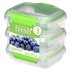 Набор контейнеров для еды Sistema Fresh 951523