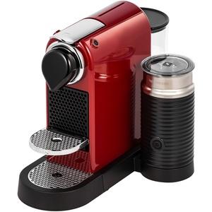 Капсульная кофемашина Nespresso CitizMilk C123 Cherry Red