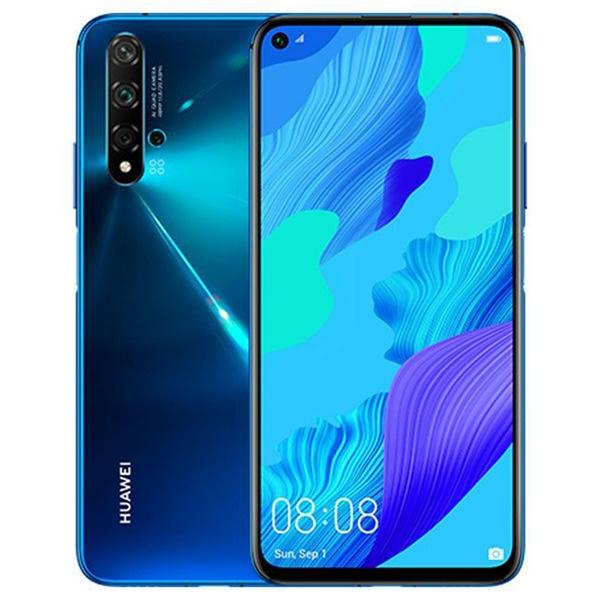 Смартфон Huawei Nova 5T 128 ГБ глубокий синий синего цвета