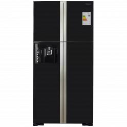 Зеркальный холодильник Hitachi R-W722FPU1XGBK