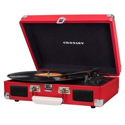 Проигрыватель виниловых пластинок Crosley CRUISER DELUXE CR8005D-RE