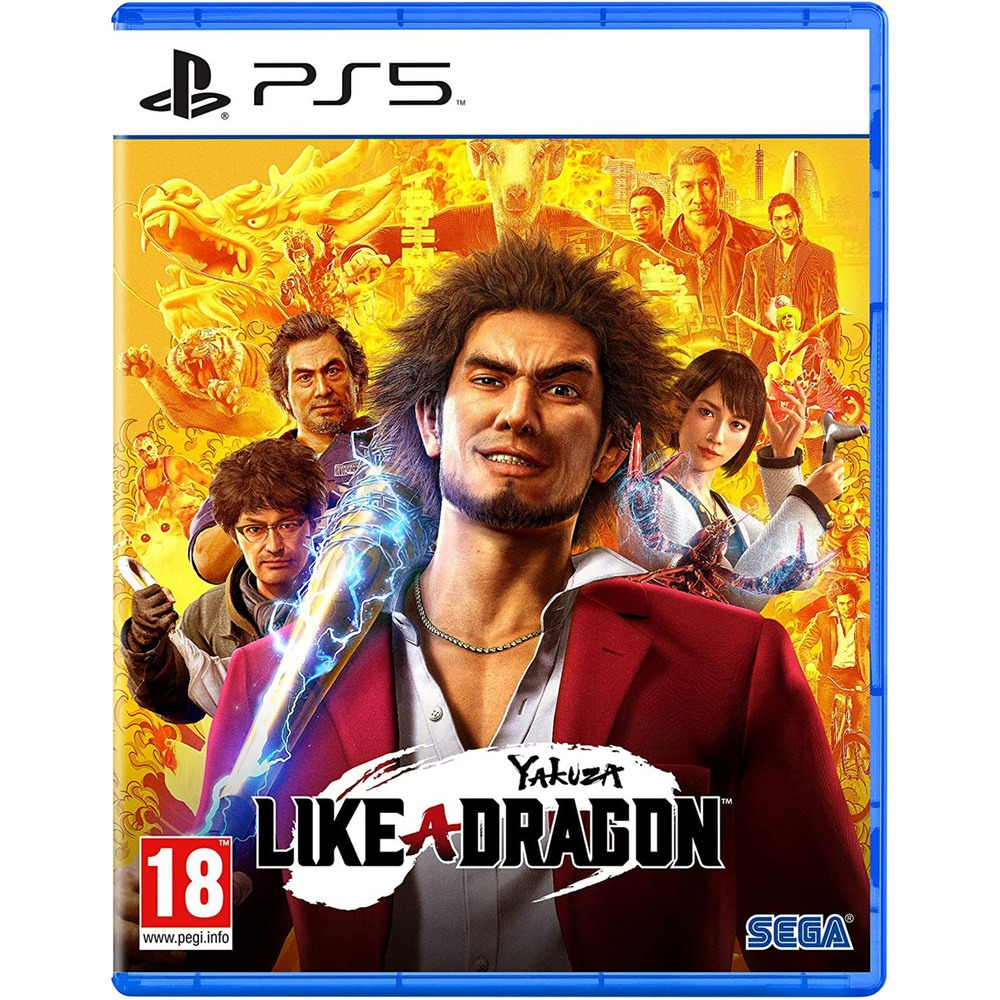 Yakuza: Like a Dragon PS5, русские субтитры Sega
