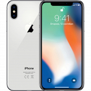 Apple iPhone X 64GB серебристый