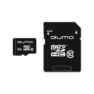 Qumo MicroSD 8GB Class 10 High-Capacity