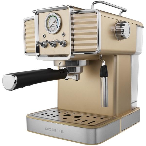 Кофеварка Polaris PCM 1538E Adore Crema шампань фото
